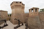 Mondavio (pesaro E Urbino, Marches, Italy) - Walls And Towers