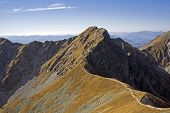 Tri Kopy Peak in Western Tatras