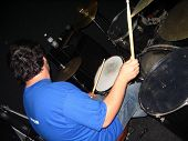 Guy On Drums #3 poster