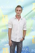 LOS ANGELES - AUG 7: Tom Felton arrives at the 2011 Teen Choice Awards held at Gibson Amphitheatre on August 7, 2011 in Los Angeles, California