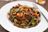 Beef Stir Fry On Rice