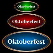 drei Symbole Oktoberfest