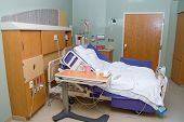 foto of intensive care unit  - A medical patient - JPG