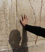 Prayer at the Wailing wall