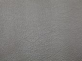 Genuine Grey Cattle Leather Texture Background. Macro Photo poster