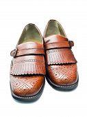 Sapatos marrons