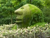Floriade 2012 - World Horticultural Expo, Venlo, The Netherlands. Stone Head.