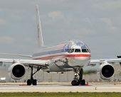 American Airlines Passenger Jet