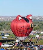 Internationales Ballon-Fiesta In Albuquerque, Nm