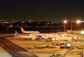 Spirit Air Jetliner Departing From Fort Lauderdale, Usa