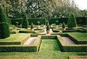 Gardens At Little Moreton Hall