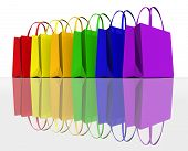 Colours Shopping Bags