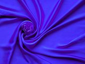 Blue Electric Silk And Rose Petals. Rose On A Silk Textured Abstract Background. Valentines Day With poster