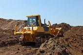 Heavy construction machine - bulldozer