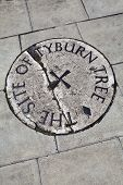Tyburn Tree (gallows) Plaque In London