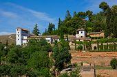 palace of Generalife, Granada, Spain