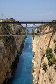 Passagem de água do Canal de Corinto