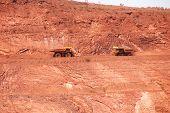 Camiones de minería