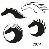 Pferde-Kopf-Symbol