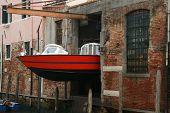 Water Ambulance Storage, Venice, Italy