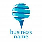 Logotipo azul