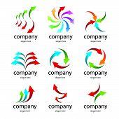 Logo Colored Arrows