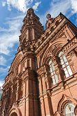 foto of epiphany  - the bell tower of the Epiphany church in Kazan - JPG