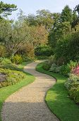 Serpentine Garden Path