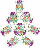 Resumen árbol de flores lindos