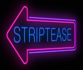 Signo de striptease.