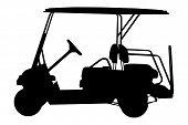 golf cart vector illustration