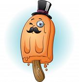 Rich Tycoon Popsicle Cartoon Character