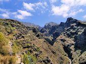 Garganta del infierno en Tenerife