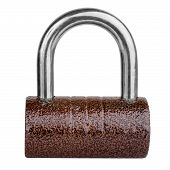 Brown Cylindrical Lock