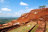 SIGIRIYA - OCTOBER 15: The view from Sigiriya (Lion's rock) is an ancient rock fortress and palace r