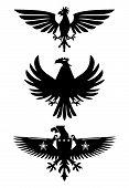 Heraldische Vögel