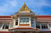 Ubosot In Temple Of The Wat Rhai Pa, Trat, Thailand