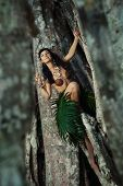 Indigene Woman In The Lians