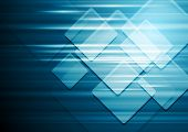 Abstract hi-tech geometrical design. Vector background eps 10