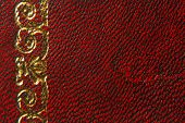leather red vintage style texture background