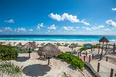 Dolphin Beach, Cancun, Mexico