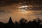 Western Temples Of Khajuraho, At Dawn, India - Unesco Site.