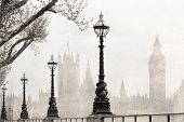 Vintage view of London.