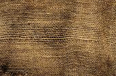 closeup of an old and dirty burlap fabric
