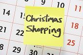 Christmas Shopping Reminder