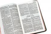 Bible Open To Prophet Isaiah