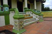 Kampung Ayer Barok Mosque Staircase