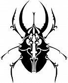 Scarab Beetle.eps
