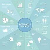 Infographic elements. Vector illustration