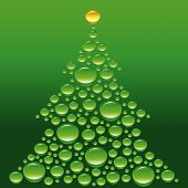 picture of christmas cards  - abstract fir this illustration may be useful as designer work - JPG